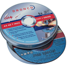 AS46 Inox DPC-Centre Cut-Grind Disc 115x1.0x22.23 Tin Qty-5