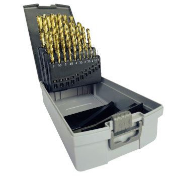 HSS-G Tin Coated Jobber Drill Sets